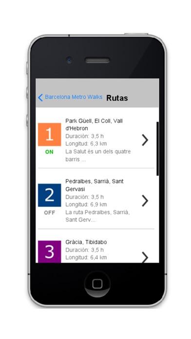 Barcelona Metro Walks - CA screenshot four