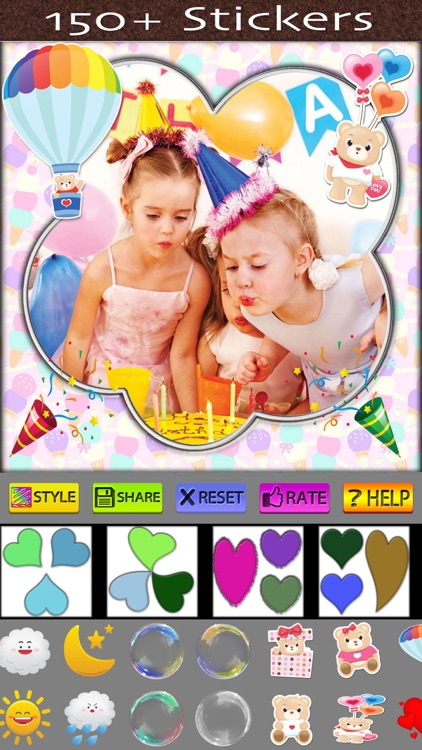 Photo Frames and Stickers screenshot-3