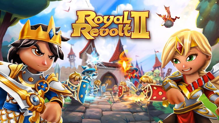 Royal Revolt 2: Tower Battle screenshot-0