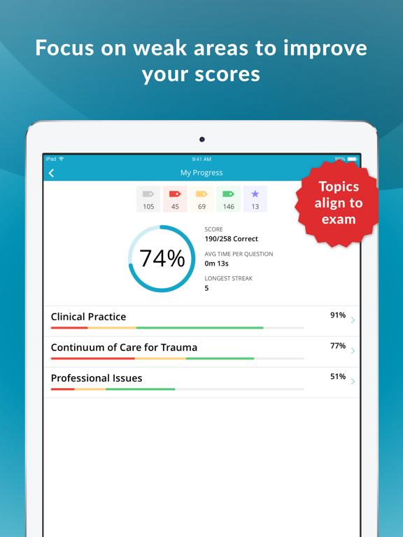 TCRN Trauma Nurse Exam Prep screenshot 7