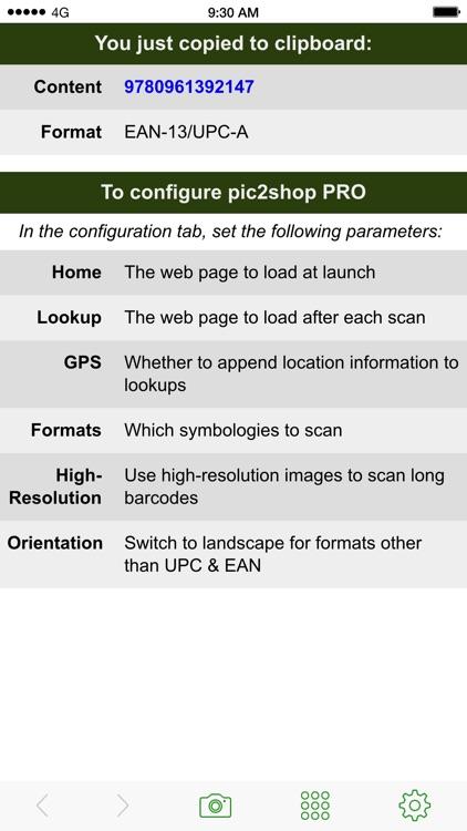 pic2shop PRO - DIY Barcode screenshot-4