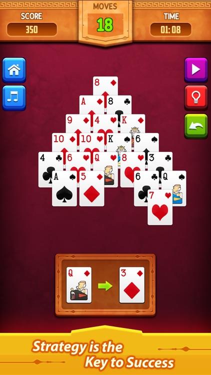 Pyramid Solitaire: Card Game screenshot-3