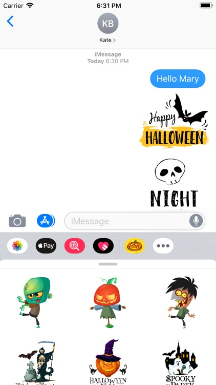 Halloween Festival Stickers screenshot-4