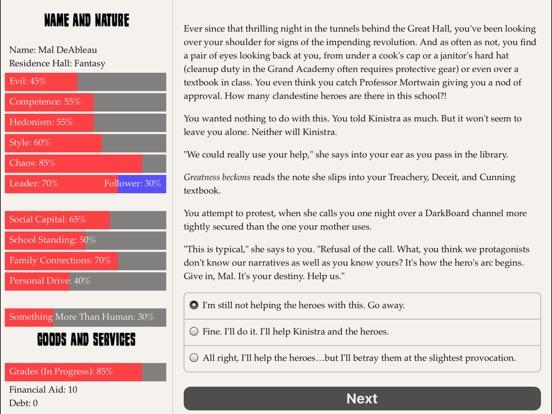 Grand Academy for Villains screenshot 10