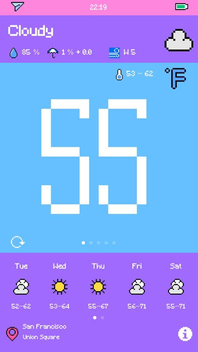 Pixel Weather - Forecast Screenshot 3