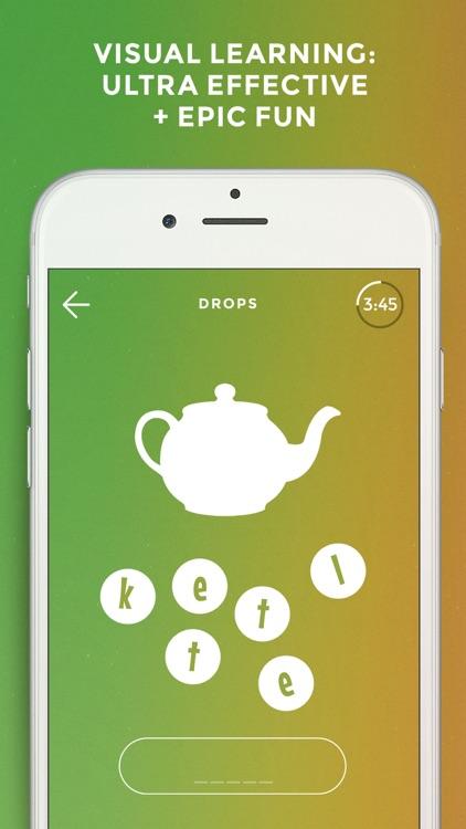 Drops: Learn 31 new languages screenshot-0