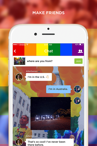 LGBT+ Amino Community and Chat - náhled