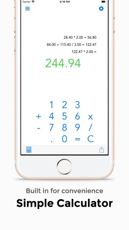Tip Calculator +++ screenshot-4