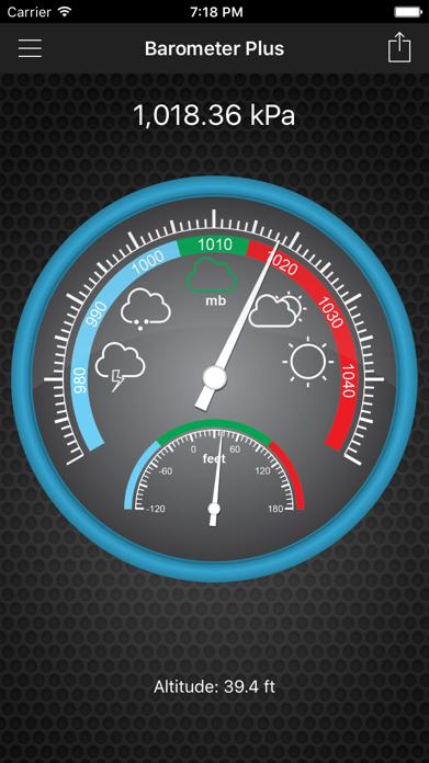 Barometer Plus - Altimeter Screenshot