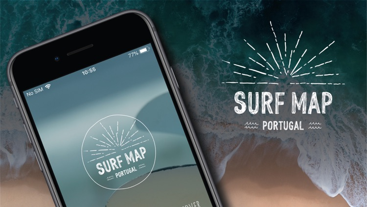 Surf Map Portugal