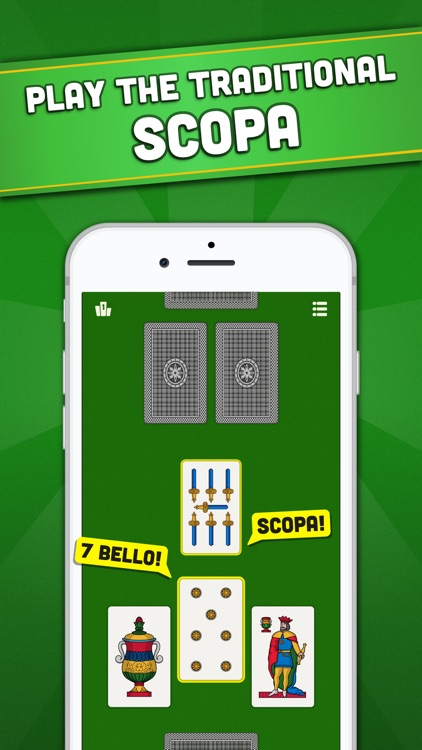 La Scopa - Classic Card Games screenshot-0