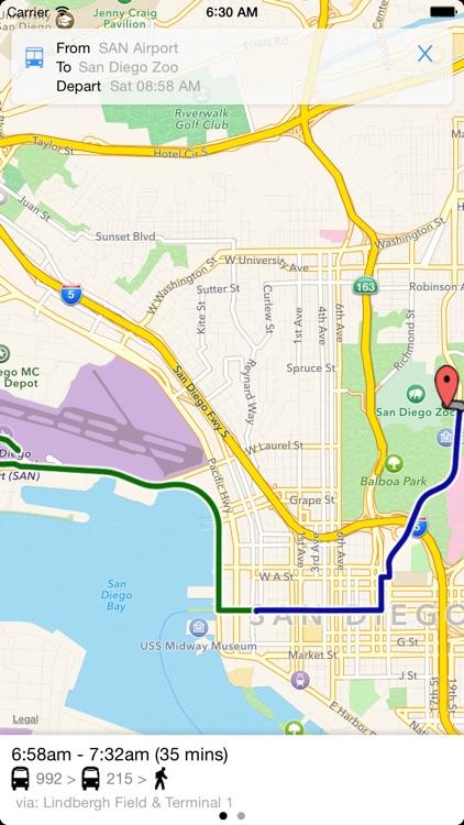 Transit Tracker - San Diego screenshot-3