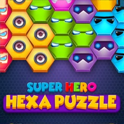 Super Hero Hexa Puzzle