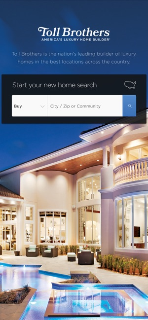 Toll Brothers On The App Store