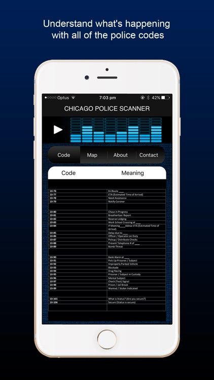 Chicago Police Scanner Radio