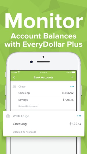 everydollar easy budgeting app on the app store