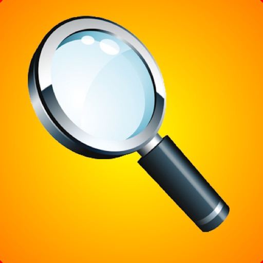 Reading Magnifier With Light icon