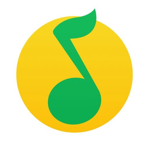 """QQ音乐-来这里""""发现・音乐"""" application logo"""