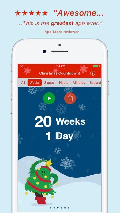 Christmas Countdown! screenshot two
