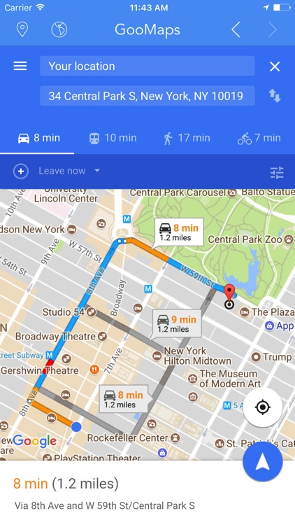 GooMaps - for Google Maps Edition