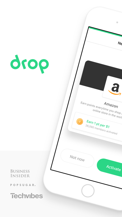 Screenshots of Drop - Free Cash Rewards for iPhone