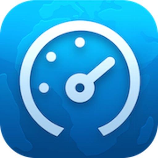 宽带测速-检测网络上传下载速度 application logo
