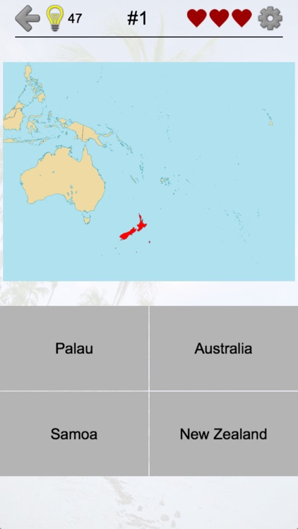 Australian States and Oceania screenshot-0