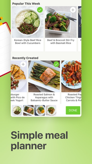 Mealime Meal Plans & Recipes Screenshot