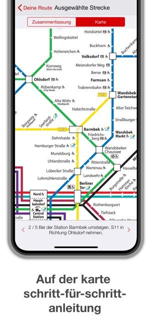 hamburg metro karte route im app store. Black Bedroom Furniture Sets. Home Design Ideas