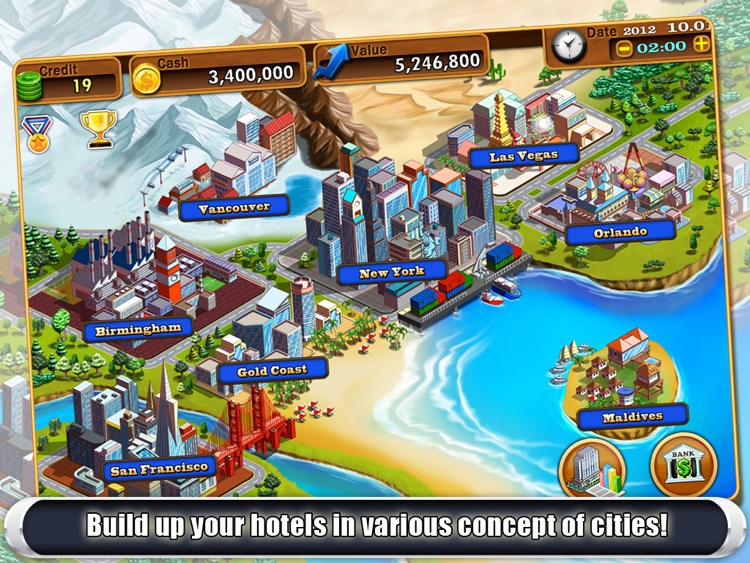 Hotel Tycoon2 HD screenshot-2