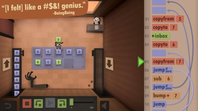 Screenshot for Human Resource Machine in Japan App Store