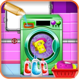Home Washing Laundry Game