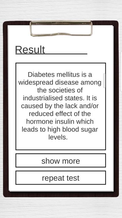 Diabetes Risk Test screenshot-7