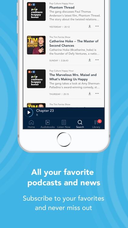 Otto - Audiobooks & Podcasts screenshot-3