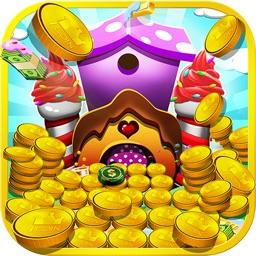 糖果奇乐堡: 推金币 - 好玩休闲的推币机
