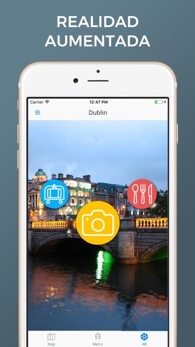 Dublín - Mapas de la ciudadCaptura de pantalla de2