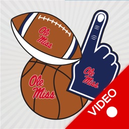Ole Miss Rebels Animated Selfie Stickers