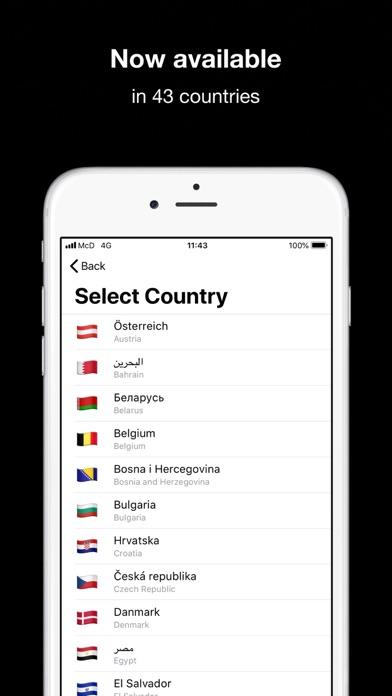 Screenshot for McDonald's in Sweden App Store
