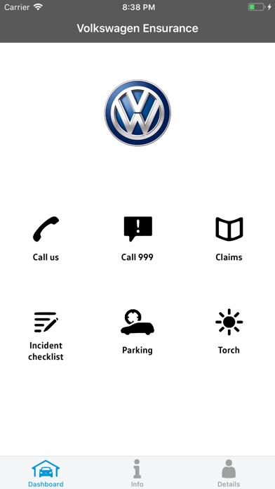 Volkswagen Ensurance screenshot one