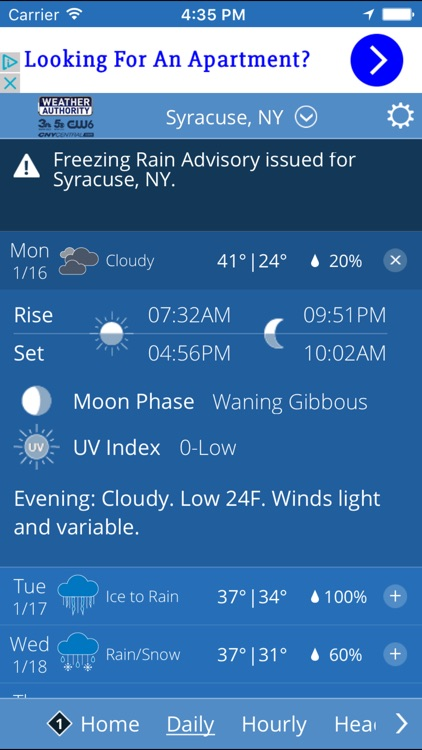 CNY Central Weather screenshot-3