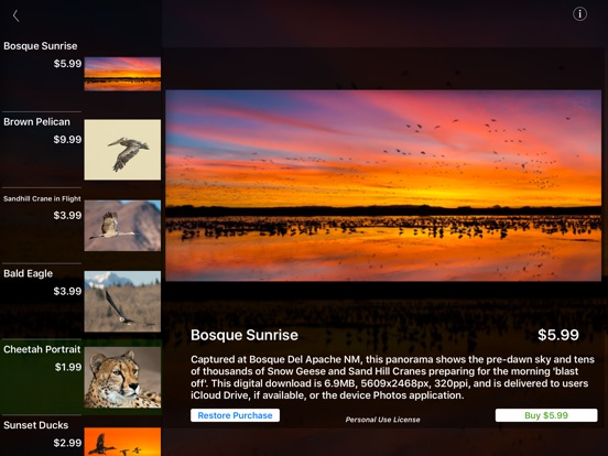 Screenshots for Nature and Wildlife Pictures