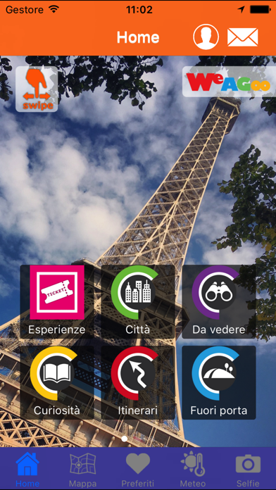 Screenshot of Parigi una guida utile1