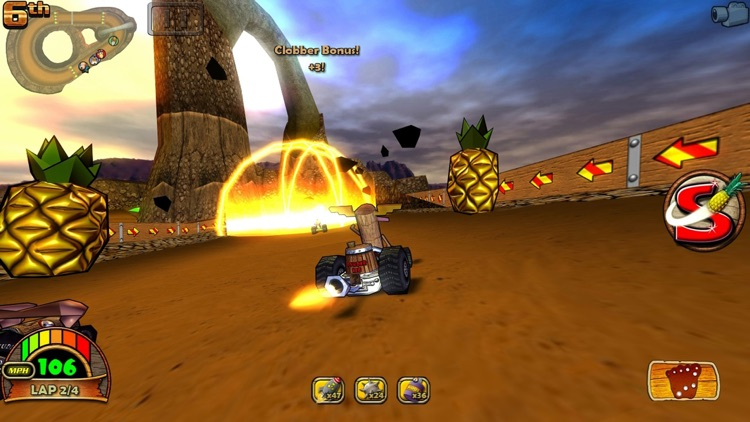 Tiki Kart 3D screenshot-0