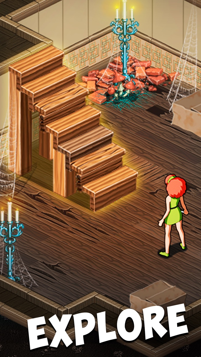 Ghost Town Adventures: Puzzle Screenshot
