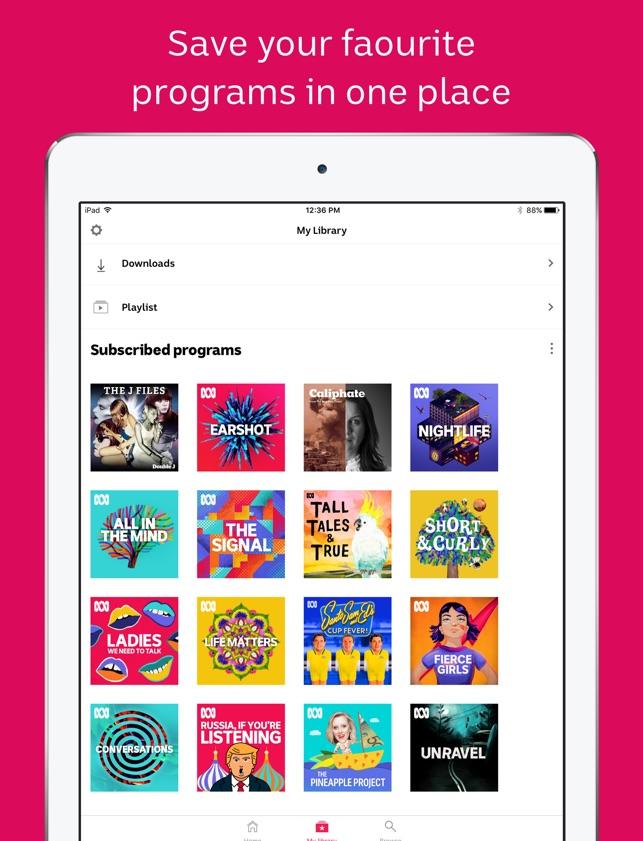 Abc listen app review