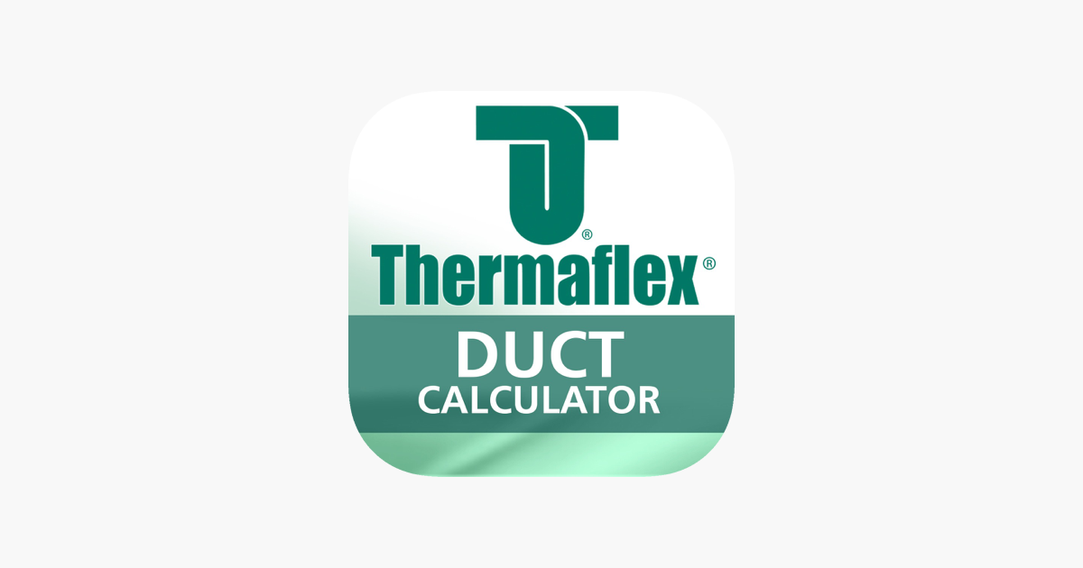 Thermaflex Duct Calculator on the App Store