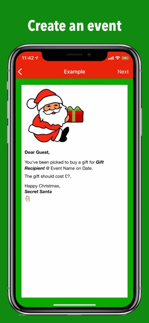 Secret Santa Gift Exchange On The App Store