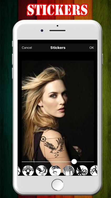 Tattoo Photo Maker App