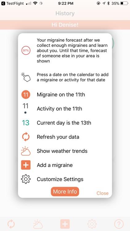 Migraine Alert screenshot-4
