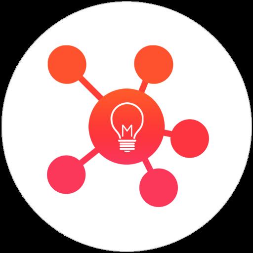 Mind Vector - Mind Mapping, мозгового штурма & Изложите информацию визуально
